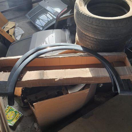 Накладки арок передних колёс AUDI Q5 80A