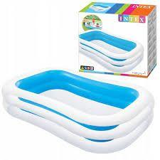 Детский надувной бассейн Изумруд Intex 56483,262х175х56см