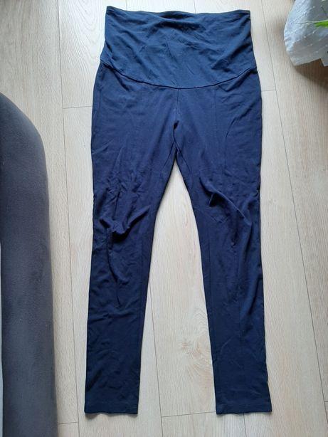 Legginsy ciążowe spodnie granatowe r. 40/42 L/XL