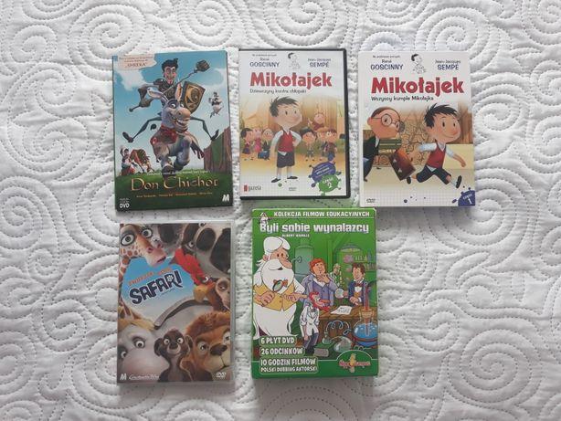 Bajki CD Byli sobie wynalazcy, Mikołajek itd