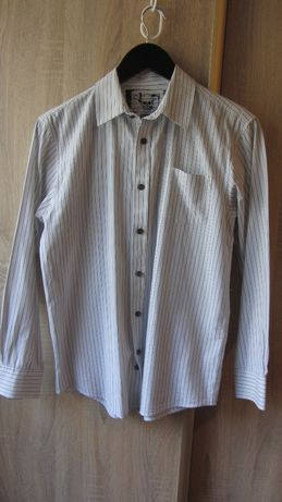 Рубашка на мальчика 100% хлопок р.158-164 Сорочка в школу бавовна