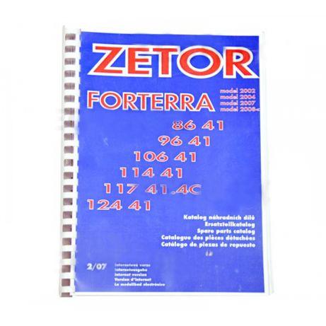 Katalog części ZETOR Forterra 8641; 12441 Zetor Oryginał