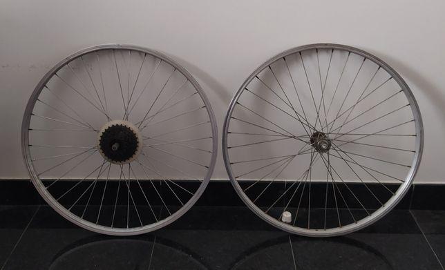 Rodas 26X1.75 para bicicleta em alumínio