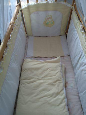 Детское постельное бельё,бортики,балдахин,держатель для балдахин