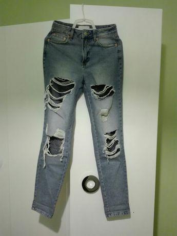 Spodnie jeansy damskie H&M roz.34