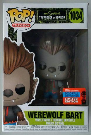 """Werewolf Bart"" the Simpsons figurka Funko POP! Limited edition 2020"