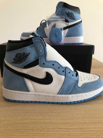 Nike Air Jordan 1 Retro High White University Blue Black