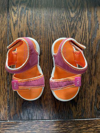 Okazja! Sandalki dla dziewczynki Polo Ralph Lauren roz. 20