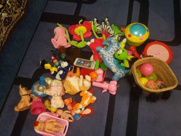 Детские игрушки цена за все