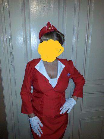 Strój, przebranie stewardessy L