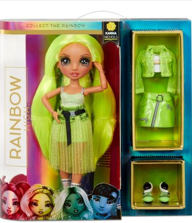Лялька Rainbow high Karma Nichols Карма Нікольс 2 series