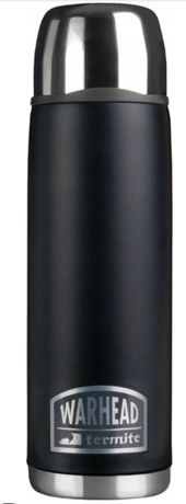 Termos próżniowy Temite Warhead 1 L Czarny MAT