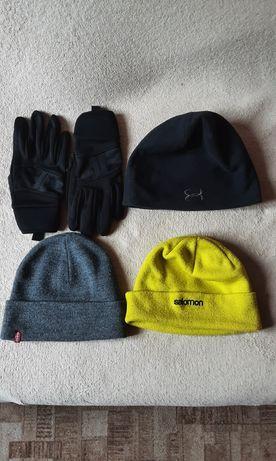 Zestaw Czapki plus rękawiczki