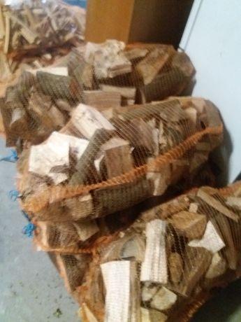 Drewno opałowe worek 37 l