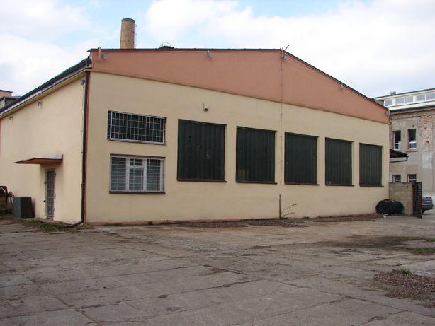Hala 1300 m2, działka 3620 m2, nowa kotłownia