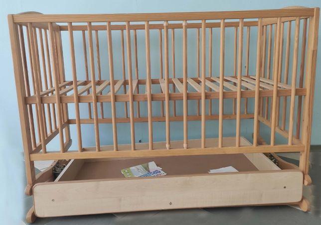 Детская кроватка Радик II с ящиком