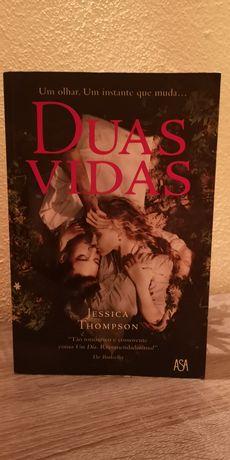Livro Duas Vidas de Jessica Thompson