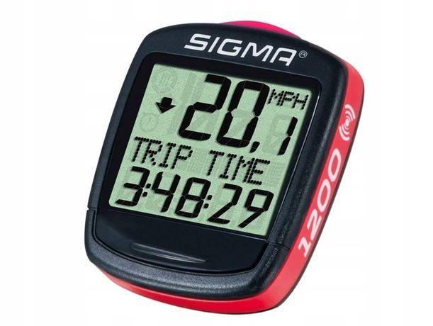Licznik rowerowy bezprzewodowy Sigma Sport Sigma Base 1200 WL