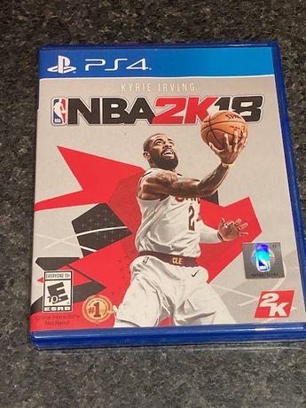 NBA 2k18 gra na PS4