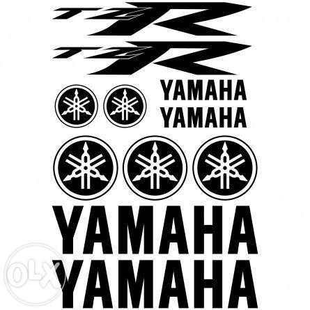 TZR Yamaha autocolantes kit