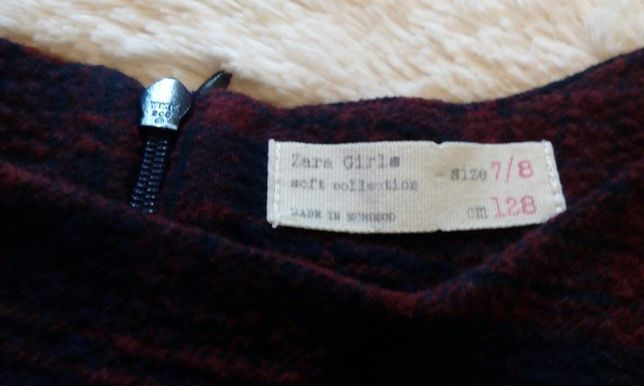 ZARA sukienka/tunika 7-8lat,128