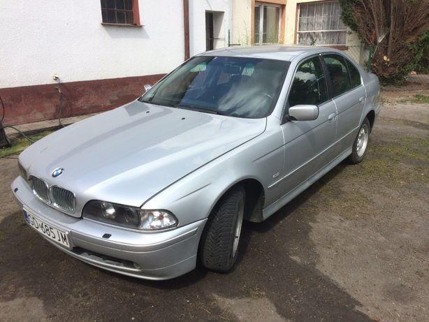 Części BMW E39 525tds 2.5tds M51 143KM Cała na części Titansilber