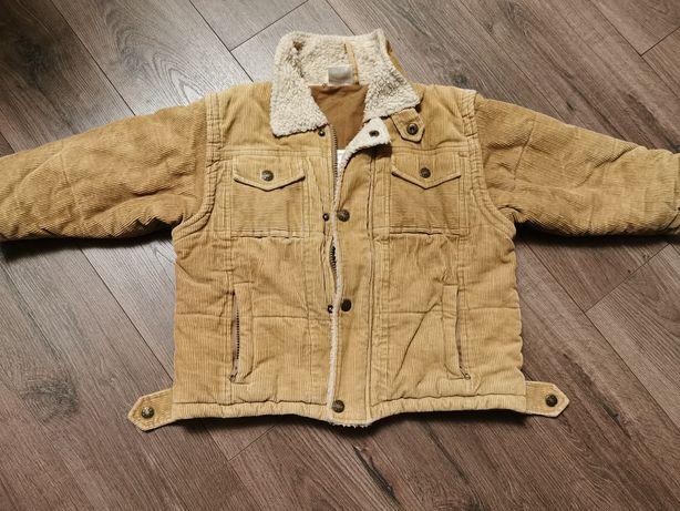Ciepła kurtka rozmiar 104
