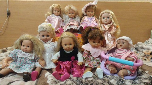 Куклы,ляльки,пупсы фирменные с клеймом 43-55см прекрасный подарок