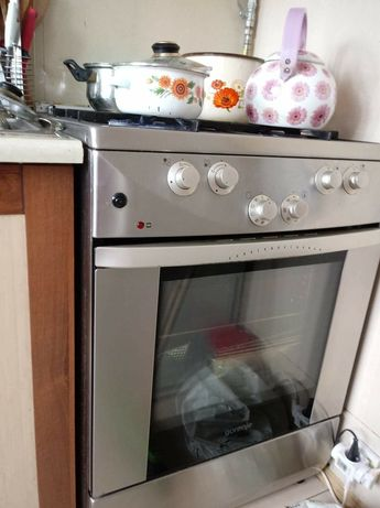 Mikrofalówka lodówka kuchnia gazowa