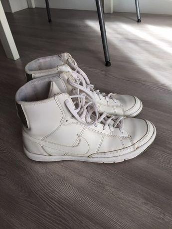 Adidasy wysokie nike buty sportowe białe lekkie nadają sie na zime