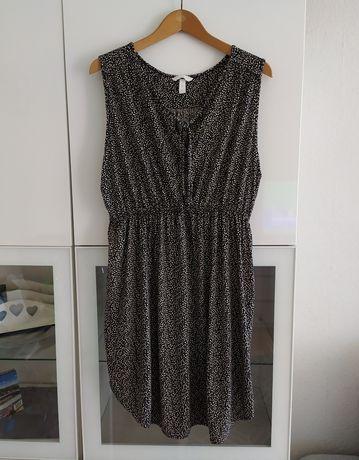 Sukienka ciążowa XL H&M mama lato letnia 42 ubrania odzież