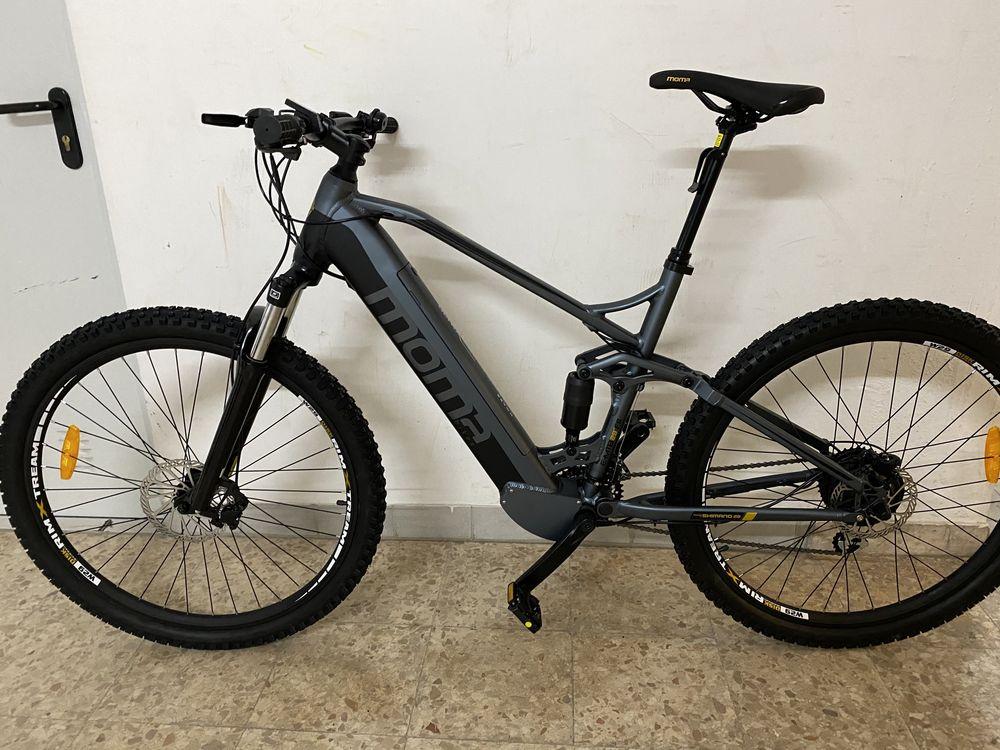 "Bicicleta electrica BTT e-bike quadro XL roda 29"" full suspensio"
