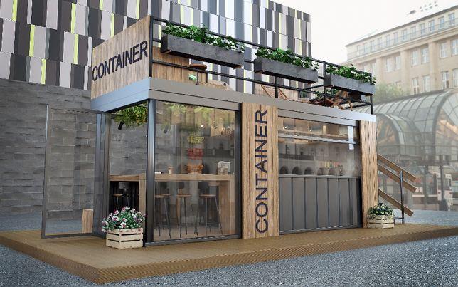 Kontener Pawilon Gastronomiczny Biurowy Mieszkalny