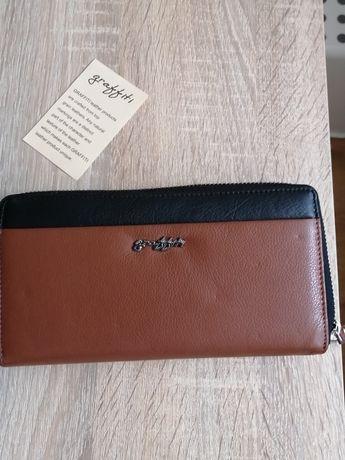 Кожаный кошелёк фирмы Graffiti