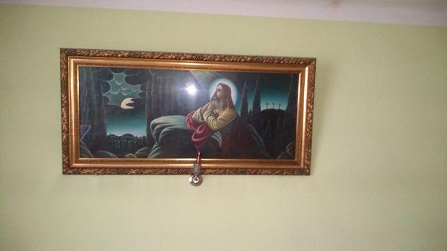Obraz Jezusa modlącego się
