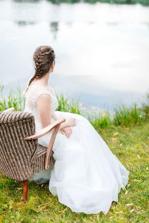 Suknia ślubna Morilee 38 ivory