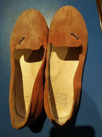 Туфлі для дівчинки замшеві