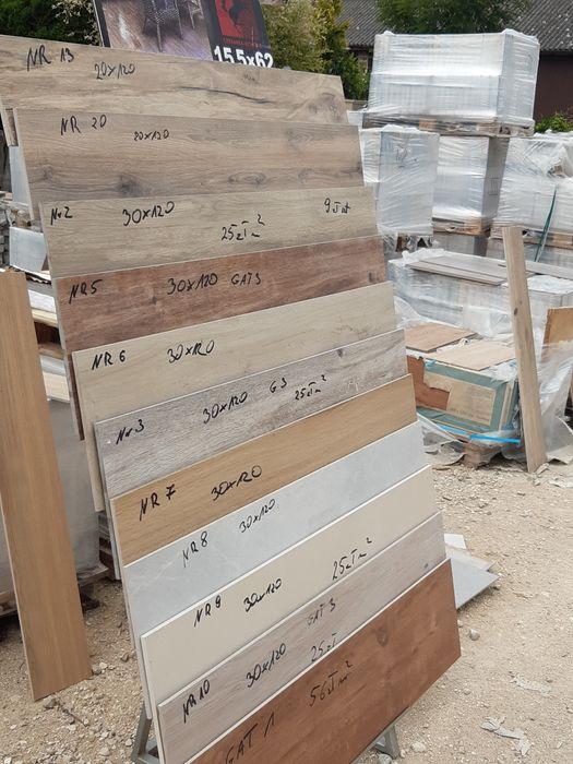 Płytki ceramiczne Gres 30x120 i 20x120 Schody Tarasy Salon Wrocław - image 1