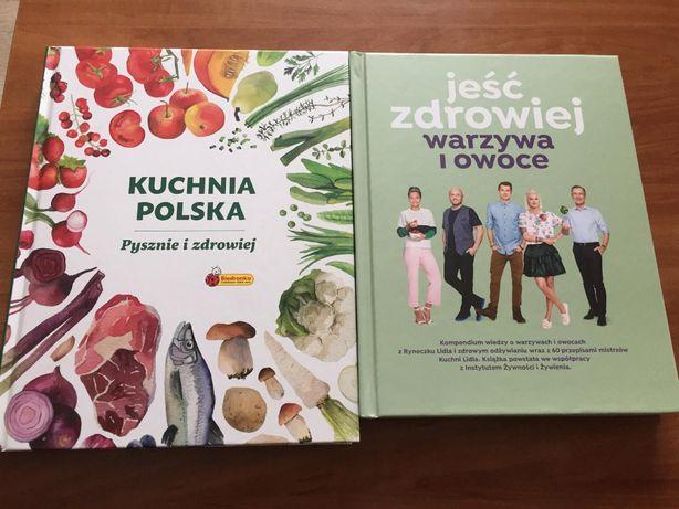 Ksiązki kucharskie Lidl i Biedronka