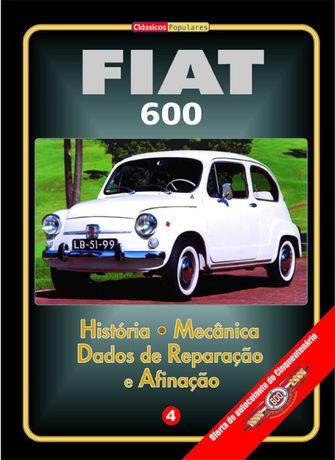 Manual Técnico do Fiat 600 / 600 D em Português