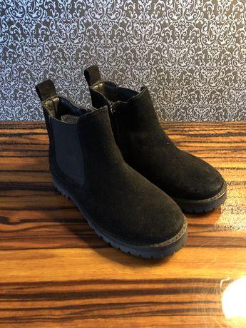 Buty sztyblety reserved skora naturalna jak nowe rozmiar 27