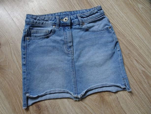 NEXT spódniczka spódnica dżinsowa 134/140
