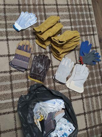 Продам перчатки рукавицы рабочие краги