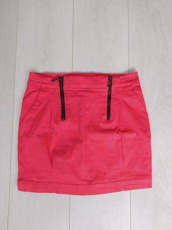 Czerwona spódnica - rozmiar S