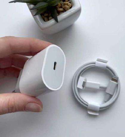 Быстрая зарядка 18 Вт Iphone Usb-C айфон адаптер блок