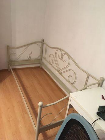 Rama łóżka 90 jysk  łóżko stalowe