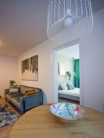 Nowe pięknie zaprojektowane mieszkanie, 35m2, dwa pokoje, 1400zł
