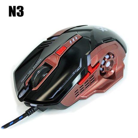 Геймерская мышь N3 с подсветкой