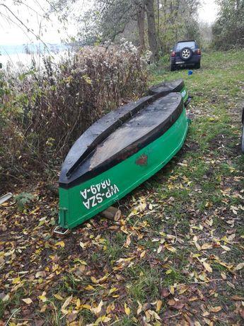 Sprzedam łódź wędkarska metalową. Stan b. dobry.