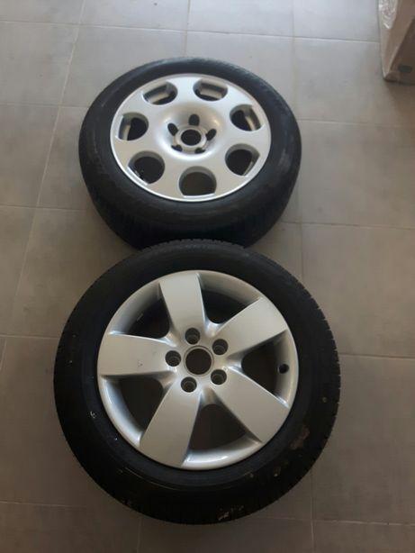 Колеса 16 дюймов Good Year и Bridgestone Audi оригинал+резина новые.